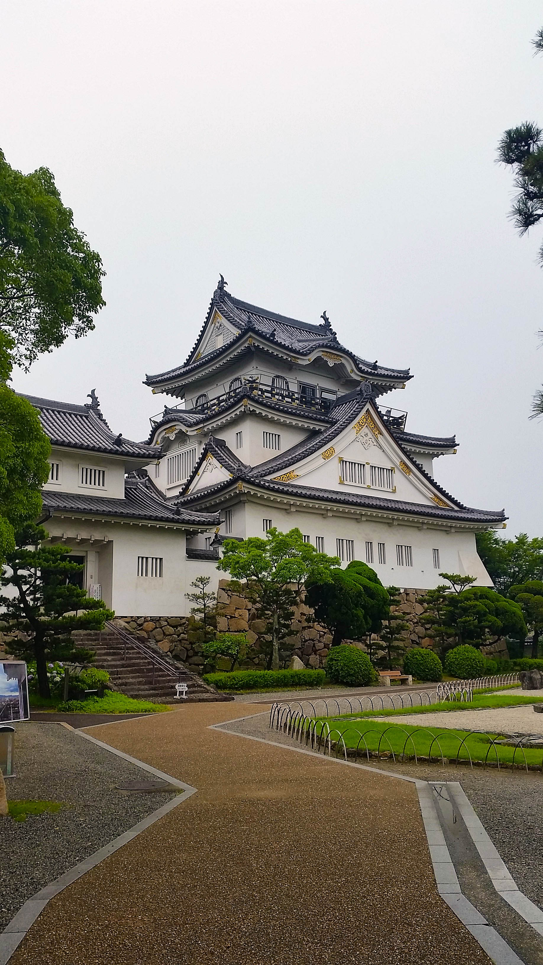 kishiwada castle and subjugation of negoro-ji - izanau