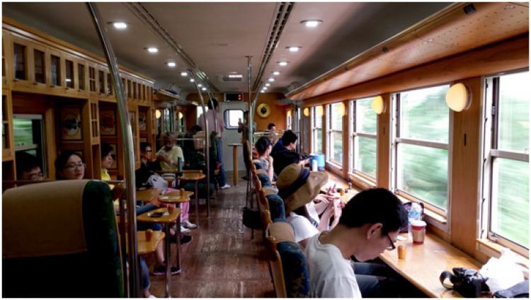 Ibusuki No Tamatebako JR – A Train Holding The Memories Of Urashima - Izanau