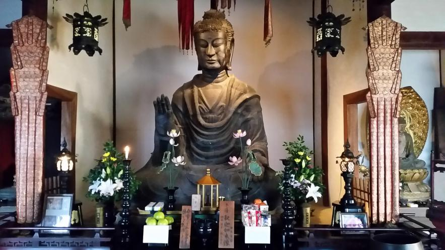 The Temple with the Oldest Buddhist Statue in Japan: Asuka-dera